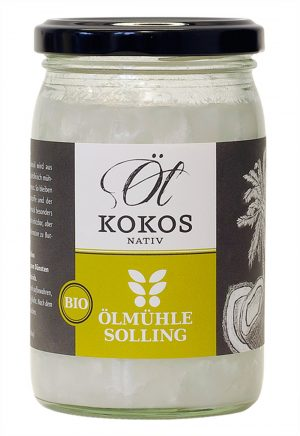 Kokosöl nativ Ölmühle Solling 250ml