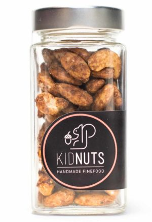 Kidnuts geröstete Chili-Ingwer Nüsse im Glas 200g