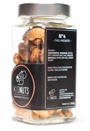 Kidnuts Chili-Ingwer Nüsse