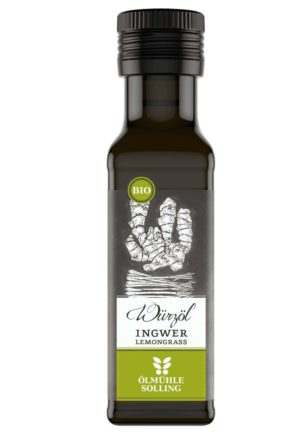 Ingwer Lemongrass Würzöl Ölmühle Solling 100ml