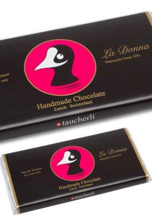 Taucherli La Donna Schokolade Tafel 100g