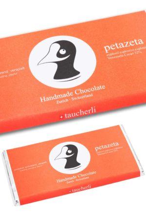 Taucherli handmade Schokolade Petazeta
