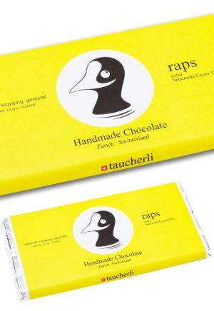 Taucherli Schokolade handmade Raps
