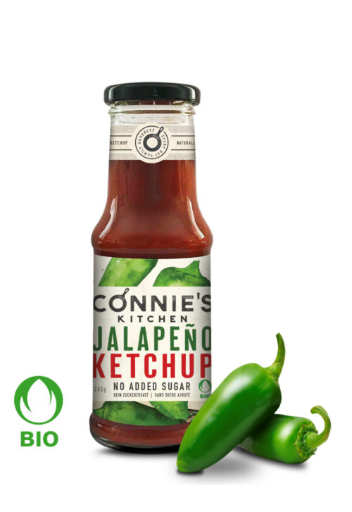 Connies Kitchen Jalapeno Ketchup 240g