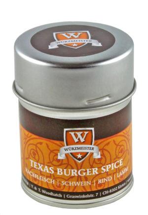 Texas Burger Spice Gewürz Bio-Mischung von Würzmeister 70g