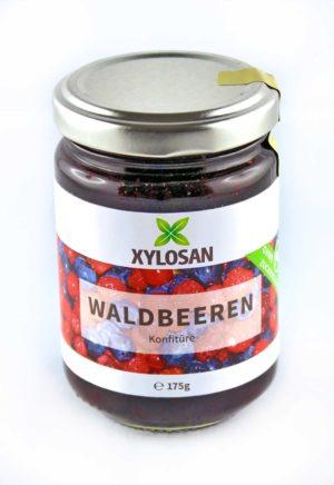 Waldbeere Konfitüre mit Xylit von Xylosan 175g