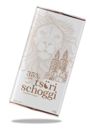 Hazelnut Crunch Tsüri Schoggi Taucherli