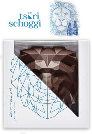 Tsüri Leu 3D Schwarz Tsüri Schoggi