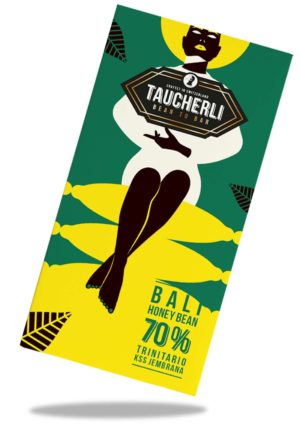 Taucherli Schokolade Bean to bar Bali Honey Bean 70%