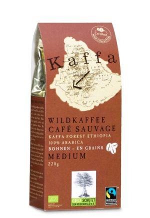 Kaffa Kaffee Medium Arabica Bohne