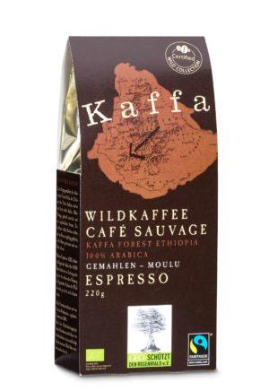 Kaffa Espresso gemahlen